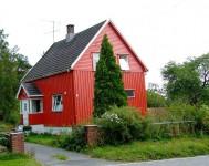 Praca sezonowa w Norwegii przy malowaniu domków